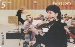 SUIZA. 10:00 Rehearsal, Basel. 8/00. MUSICA. SUI-CP-76. (249) - Musik