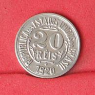 BRAZIL 20 REIS 1920 -    KM# 516,2 - (Nº31208) - Brasilien