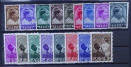 BELGIE  1936   Nr. 438 - 445 / 446 / 447 - 454    Scharnier *   CW  26,50 - Belgique