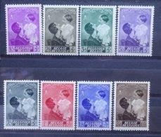 BELGIE  1937    Nr. 447 - 454    Postfris **  CW  45,00 - Belgique