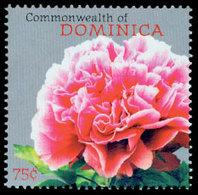 DOMINIQUE Pivoines 1v 09 Neuf ** MNH - Dominica (1978-...)