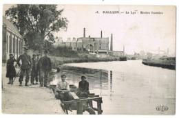 Halluin: La Lys - Rivière Frontière. ( 2 Scans) - Autres Communes