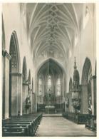 D -Landshut St.Jodok Mittelschiff  Und Chor -Ungelaufen - Eglises Et Cathédrales