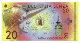Banca D'Sima Senco - Banconote Di Fantasia - Banconote