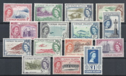 Cayman Isl., 1953 Queen Elizabeth & Views, Set Of 15v # S.G. 148-61 - Michel 136-50 - Scott 135-49  MNH - Cayman Islands