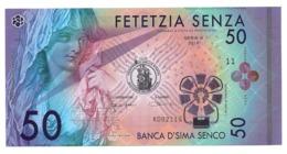 Banca D'Sima Senco - Banconote Di Fantasia - Banknoten