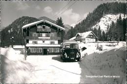 Ansichtskarte Reit Im Winkl Gasthaus Seegatterl - Bus 1958 - Reit Im Winkl