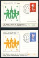 BE  PR133 - 134      ---     Sur Cartes Numérotées - Belgium