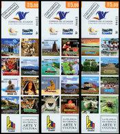 EQUATEUR 3 Carnets Provinces 24v 2009 Neuf ** MNH - Equateur