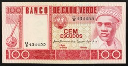 Capo Verde Cabo Verde 100 Escudos  Sup/fds LOTTO.2847 - Cabo Verde