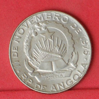 ANGOLA 10 KWANZAS 1975 -    KM# 86,1 - (Nº31233) - Angola