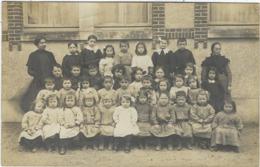 45   Saint Martin D'abbat   Carte Photo Ecole - Autres Communes