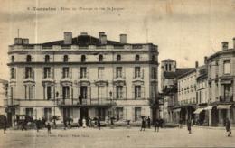 TONNEINS HOTEL DE L'EUROPE ET RUE SAINT JACQUES - Tonneins