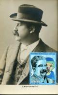 47460 Italia, Maximum 2019 Music Opera Composer Ruggero Leoncavallo,  Vintage Card - Musik