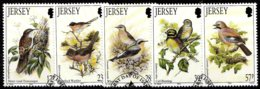 Jersey SG. 635-639 Gestempelt (6803) - Jersey
