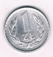 1 ZLOTY 1966 POLEN /6881/ - Polen