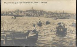 Turquie Constantinople   Vue Générale De Péra Et Galata - Türkei