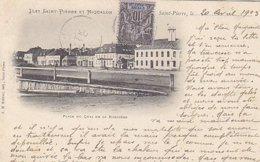 Saint-Pierre Et Miquelon - Place Du Quai De La Roncière - 1903            (A-114-160626) - Saint-Pierre-et-Miquelon