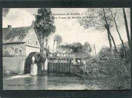 CPA - Environs De SAINT POL - La Fosse Du Moulin De Gauchin, Animé - Saint Pol Sur Ternoise