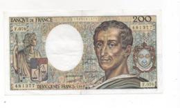 Billet 200frs Montesquieu 1989 F.076 - 200 F 1981-1994 ''Montesquieu''