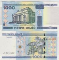 Belarus 1000 Rublei 2000 Pick 28b UNC - Belarus
