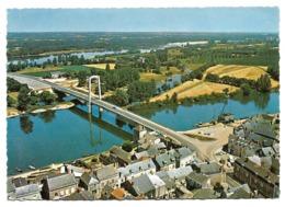 Cpsm 49 St-Florent-le-Vieil - Le Nouveau Pont Sur La Loire - (Vue Aérienne) - France