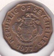 Seychelles 10 Cents 1977 FA0 , En Maillechort , KM# 32 - Seychelles