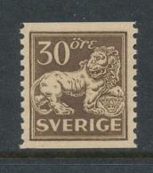 Sweden 1920, Facit # 148Ab. Standing Lion. MNH(**) - Nuovi