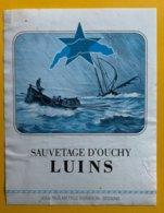 11677 - Sauvetage D'Ouchy Luins Suisse - Etiquettes