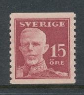 Sweden 1920 Facit # 150b Gustaf V - Full Face, MNH (**) - Nuovi