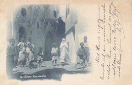 """Alger - Rue Arabe - Oblit.""""Ligne D'Alger"""" - 1898          (A-114-170720) - Algerien"""