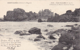 Bretagne, Ile Illiec, L'Habitation Du Maestro Ambroise Thomas (pk61187) - France