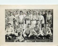 Carte Photo Début De Siècle équipe De Rugby De Begues - Autres Communes