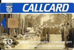 CARTE-PUCE-IRELANDE-50U-GEMB-CENTENAIRE EXPO 1895-TBE - Ierland