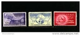 UNITED STATES/USA - 1949   UPU  AIR  MAIL  SET  MINT NH - Nuovi