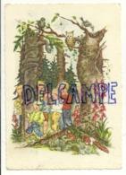 Le Petit Poucet . Der Kleine Däumling. Enfants, Forêt, Hibou, Araignée, Renard, Champignons. 1959 - Contes, Fables & Légendes
