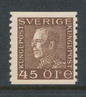 Sweden 1929 Facit # 191b, King Gustaf V, Left Profile. MNH (**) - Neufs