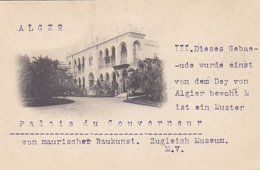 Alger - Le Palais Du Gouverneur - 1898          (A-114-170720) - Algerien