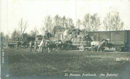 F- St.Masmes -Frankreich -Am Bahnhof -Ungelaufen - Frankreich