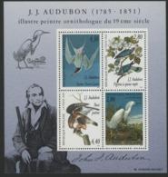 """BF 18 """"J.J. AUDUBON Illustre Peintre Ornithologue Du 19ème Siècle"""". Neuf Sans Charnière **. TB - Mint/Hinged"""