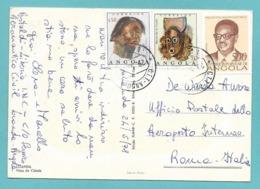 ANGOLA 1978 ON POSTCARD - Angola