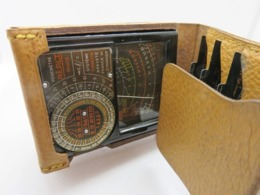 486 - Ancien Posemètre Haute Précision Complet - Plaques Mobiles  - Réalt - Vers1950 - Supplies And Equipment