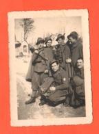 ALPINI Foto Di Gruppo Baionetta Alla Mano Foto Anni '30 - War, Military
