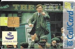 CARTE-PUCE-IRLANDE1996--FILM MICHAEL COLLINS-avec Liam NEESON-Utilisé-TBE - Cinema