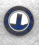 Club Sportivo Scandicci Calcio Distintivi FootBall Soccer Spilla Pins Italy - Calcio