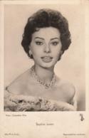 Actress Sophia Loren Old Postcard UFA - Attori