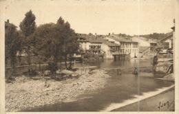 ( SAINT GIRONS )( ARIEGE ) UN COIN PITTORESQUE DU SALAT - Saint Girons