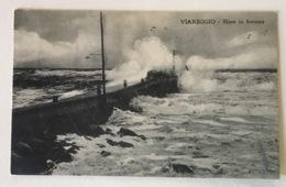 VIAREGGIO - MARE IN BURRASCA 1923   FP - Viareggio