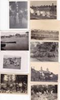 LOT PHOTO ORIGINALE 39 / 45 WW2 WEHRMACHT / LA GUERRE EN EUROPE / DIVERS FORMATS / N° 3 - Guerra, Militari