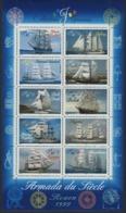 """BF 25 """"Armada Du Siècle Rouen 1999 Collection Jeunesse"""". Neuf Sans Charnière **. TB - Blocs & Feuillets"""